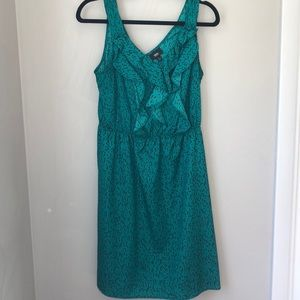 Mossimo green sundress size medium